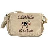Cow Messenger Bag