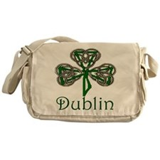 Dublin Shamrock Messenger Bag