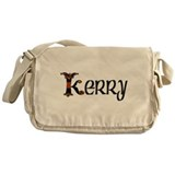 Kerry Kells Initial Messenger Bag