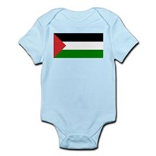 Palestinian Flag Infant Creeper