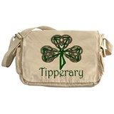 Tipperary Shamrock Messenger Bag