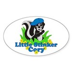 Little Stinker Cory Sticker (Oval 10 pk)