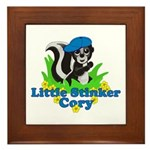 Little Stinker Cory Framed Tile