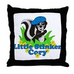 Little Stinker Cory Throw Pillow