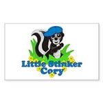 Little Stinker Cory Sticker (Rectangle 10 pk)