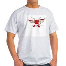 Character Red Devil Ash Grey T-Shirt