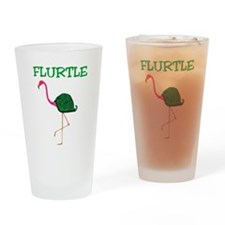 Flurtle Drinking Glass
