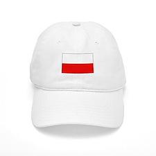 Polish Flag Baseball Cap