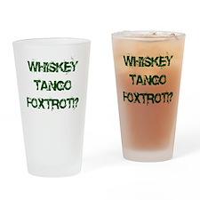WTF?! Drinking Glass