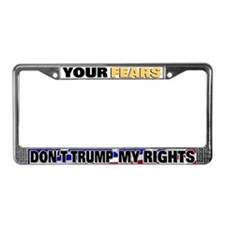 Constitutional Rights License Plate Frame