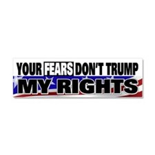 Constitutional Rights Car Magnet 10 x 3
