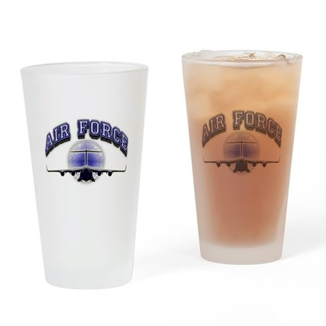 US Air Force Tanker Drinking Glass