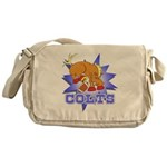 Colts Football Messenger Bag