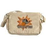 Wolves Basketball Team Messenger Bag