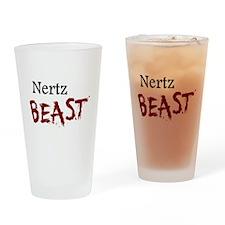 Nertz Beast Drinking Glass