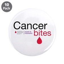 "Cancer Bites 3.5"" Button (10 pack)"