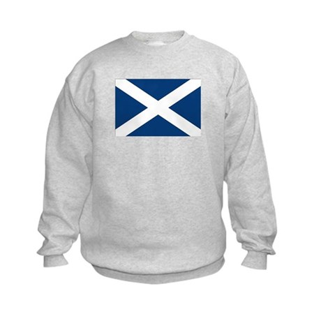 Scottish Flag Kids Sweatshirt