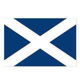 Scottish Flag Postcards (Package of 8)