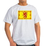 Scottish Coat of Arms Ash Grey T-Shirt
