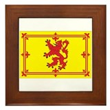 Scottish Coat of Arms Framed Tile