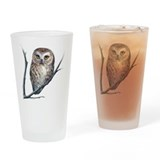 saw-whet owl Drinking Glass