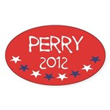 Rick Perry 2012 Decal