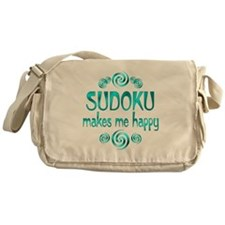 Sudoku Messenger Bag