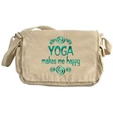 Yoga Happiness Messenger Bag