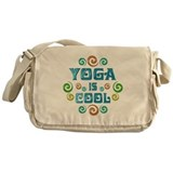 Yoga is Cool Messenger Bag