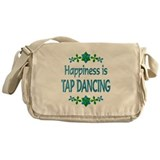 Happiness Tap Dancing Messenger Bag