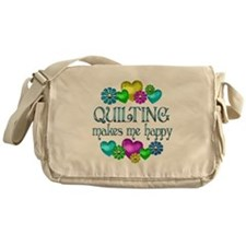 Quilting Happiness Messenger Bag