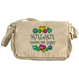 Salsa Happiness Messenger Bag