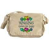 Singing Happiness Messenger Bag