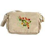 Three Cardinals Messenger Bag