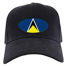 St Lucia Flag Baseball Hat