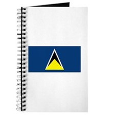 St Lucia Flag Journal