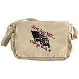No Bush Jr. Messenger Bag