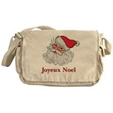 Santa Joyeux Noel Messenger Bag