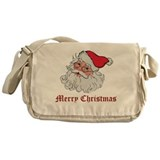 Merry Christmas Santa Messenger Bag
