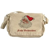 German Santa Messenger Bag