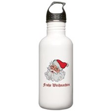 German Santa Water Bottle