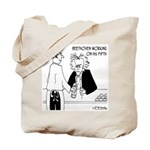 Beethoven Working on His Fifth Tote Bag
