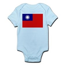 Taiwanese Flag Infant Creeper