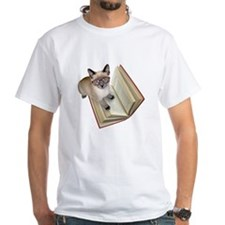 Kitten Book Shirt