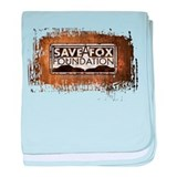 Save A Fox Foundation baby blanket