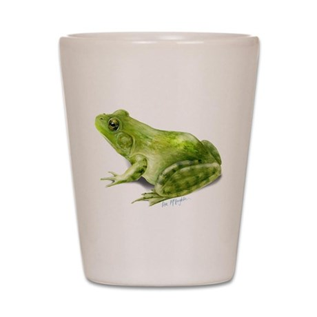 Bullfrog Shot Glass