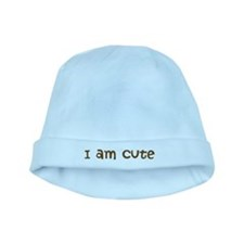 I am Cute baby hat