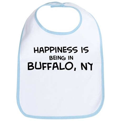 Happiness is Buffalo Bib