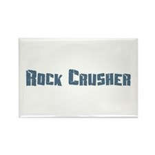 Rock Crusher Rectangle Magnet