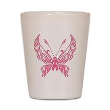 Fanciful Butterfly Shot Glass
